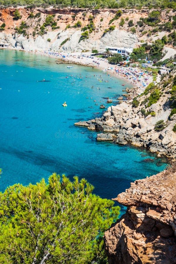 D'Hort de Cala, Ibiza (Espanha) imagem de stock royalty free