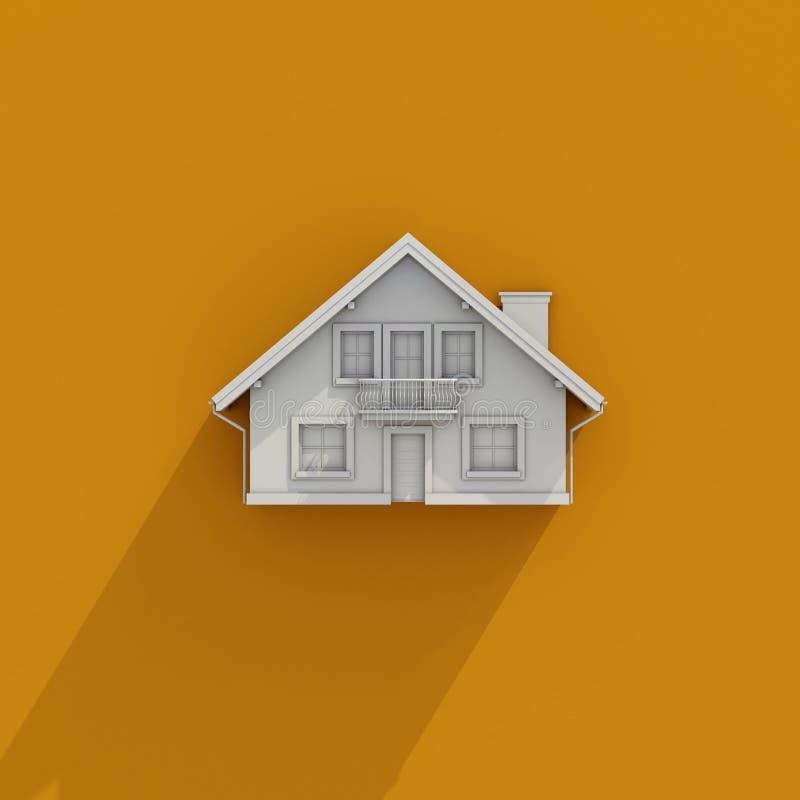 3D House Icon Stock Illustration. Illustration Of Household - 90752890