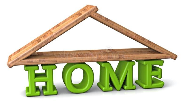 3d huis vector illustratie