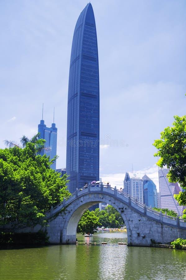 D3ia de Shenzhen China del parque de Lizhi foto de archivo libre de regalías