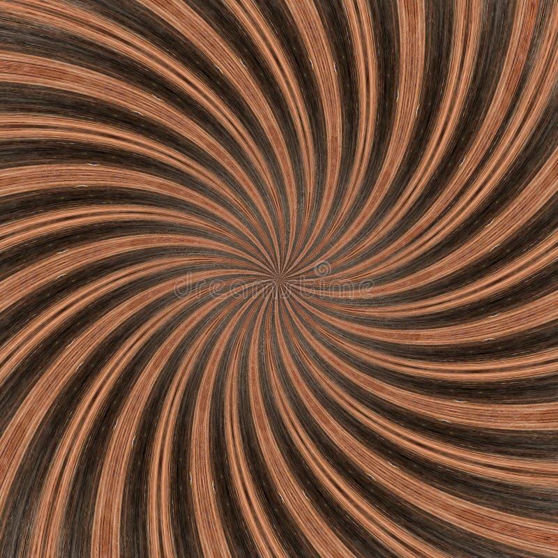 3D Illustratie Abstract beeld van een houten oppervlakte van een boom royalty-vrije illustratie