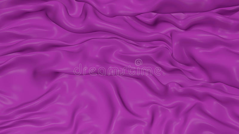3D Illustration Abstract Purple Background royalty free illustration