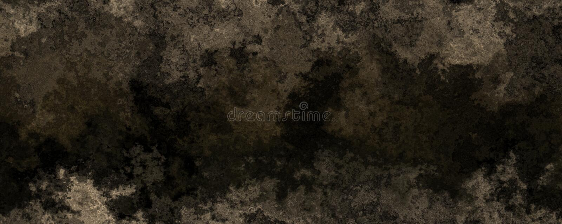 3d-illustration av den grymge svarta smutsiga väggen stock illustrationer