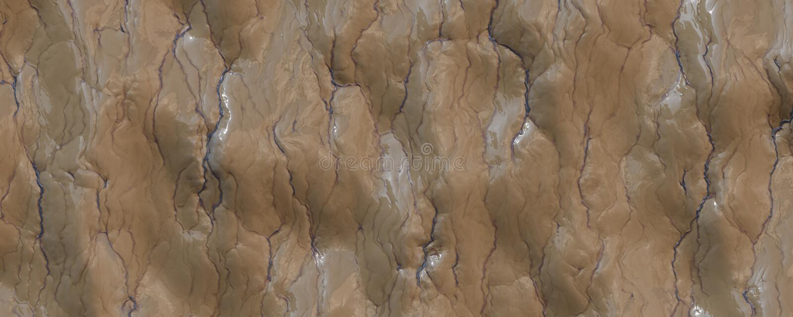 Close up rotten spleen texture background royalty free illustration