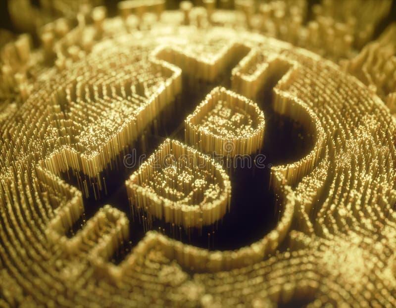Cryptocurrency Digital Global Business stock illustration