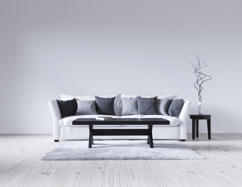 White Couch Living Room