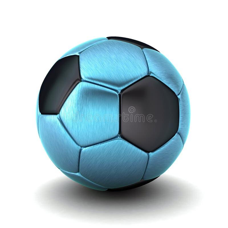 3D Illustration Of Football And Soccer Ball vector illustration
