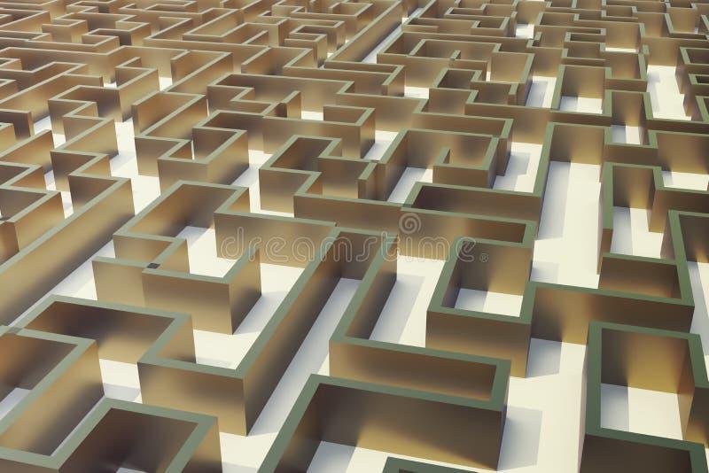 Maze Complex Problem Solving Concept – Fondos de Pantalla