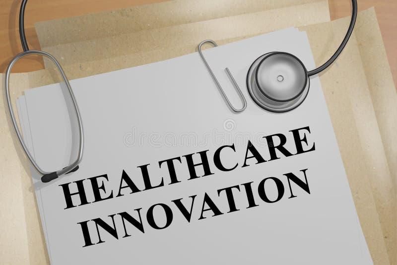 Healthcare Innovation - medical concept stock illustration