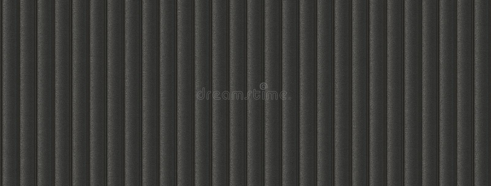 3d illustration sofa leather black seamless background vector illustration