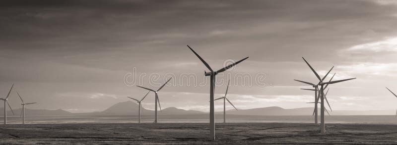 3d ilustracja odizolowywający władzy wiatr zdjęcia stock