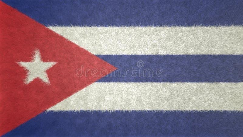 3D imagen original, bandera de Cuba libre illustration