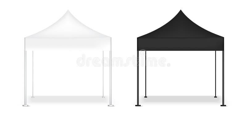 3D imitan encima de la cabina realista del POP de la exhibición de la tienda para el ejemplo del fondo de la exposición de la pro stock de ilustración