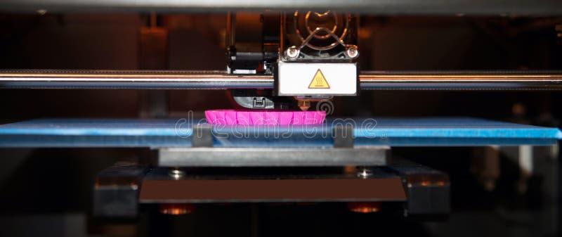 3D imprimante - impression de FDM images stock