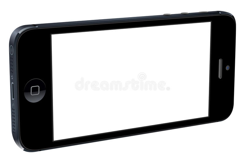 3D Iphone 5 stock illustratie