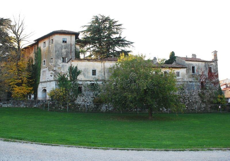 D'Isonzo Castle Gradisca στοκ φωτογραφία με δικαίωμα ελεύθερης χρήσης