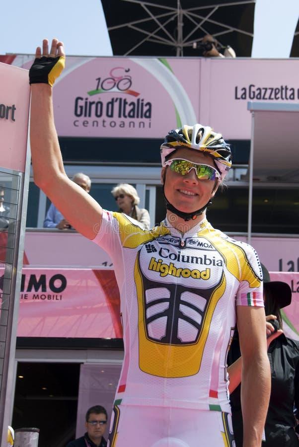 d'Italia 2009 do Giro - Edvald Boasson Hagen fotos de stock royalty free