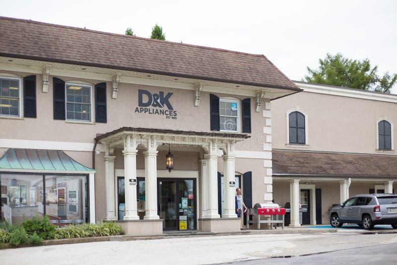 D&K-anordningar i Philadelphia arkivfoton
