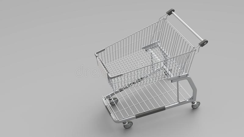 3D kar vector illustratie