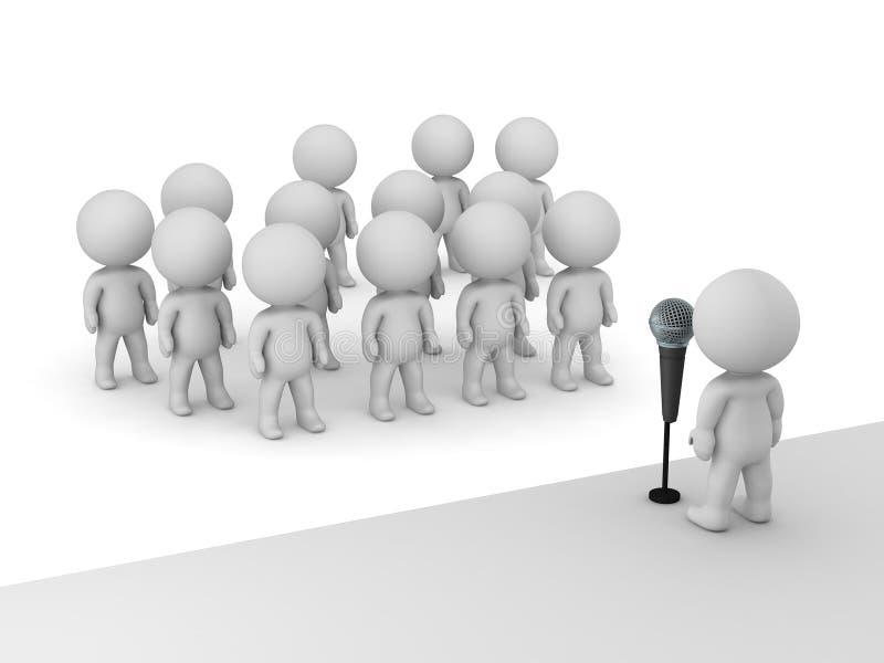 Afbeeldingsresultaat voor fotos van een spreker achter de microfoon
