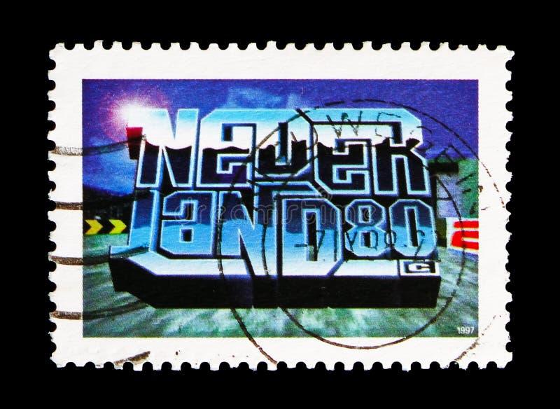 3D komputerowa grafika, kultury młodzieżowej seria około 1997, zdjęcia stock