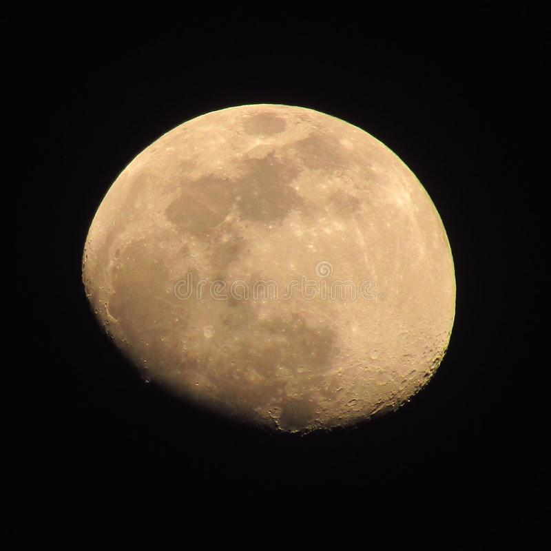 d 3 księżyc ilustracyjna noc zdjęcia stock