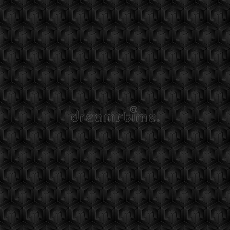 3D kszta?t, wz?r, cienia kolor, czer?, szaro?? jako t?o, abstrakt ilustracji
