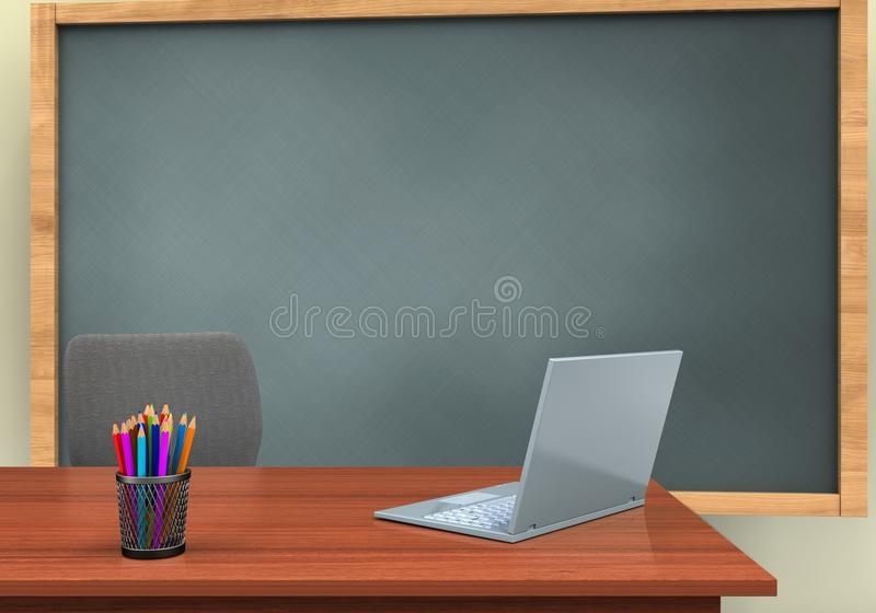 3d laptop computer vector illustratie