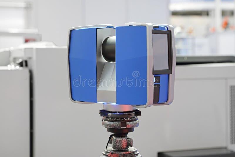 3d Laserscanner stock foto