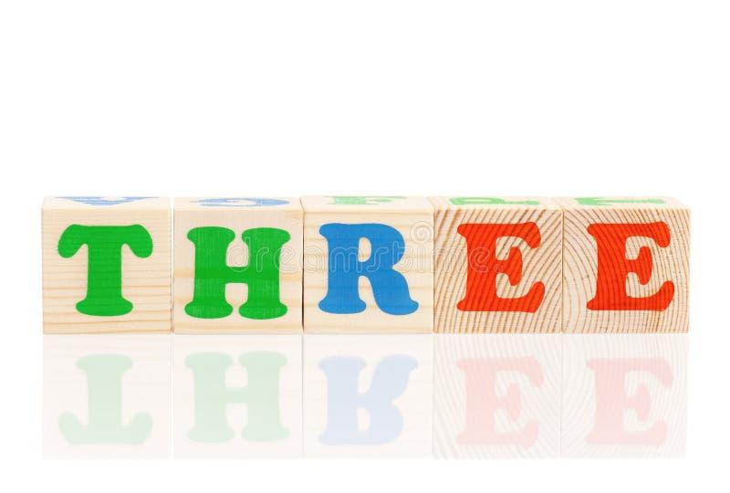 3 d listów kostek zdjęcia royalty free