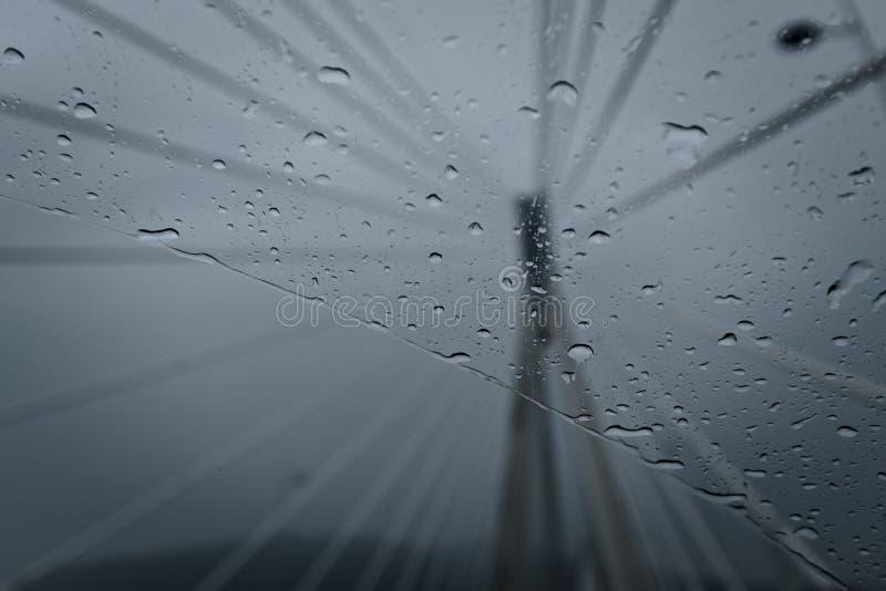 D?a lluvioso foto de archivo libre de regalías