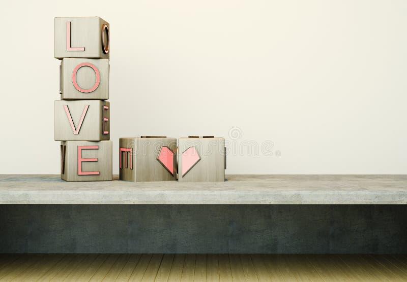 3D Loves stock image