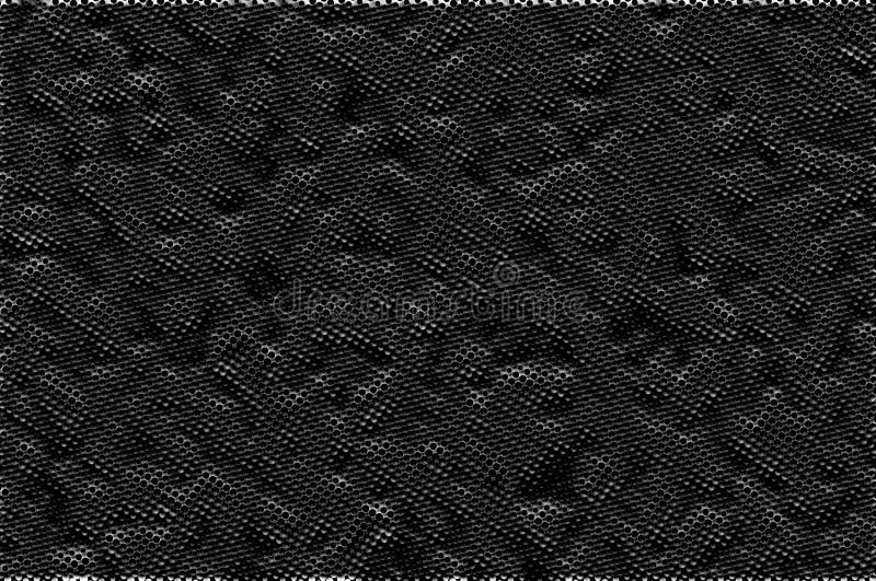 3d Mönster för metallhalfoner Raster i metallisk bakgrund Raster med effekter och övertoning royaltyfri fotografi