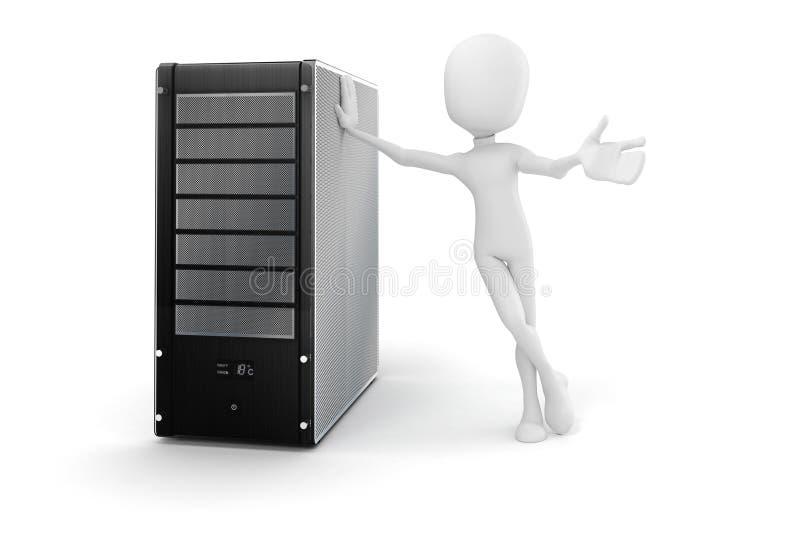 Download 3d Mężczyzna I Serwer, Narzędzia Utrzymanie Ilustracji - Ilustracja złożonej z centre, narzędzia: 28969718