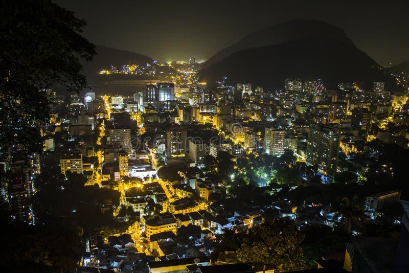 D. Marta belvedere in rio de janeiro. Brazil royalty free stock images