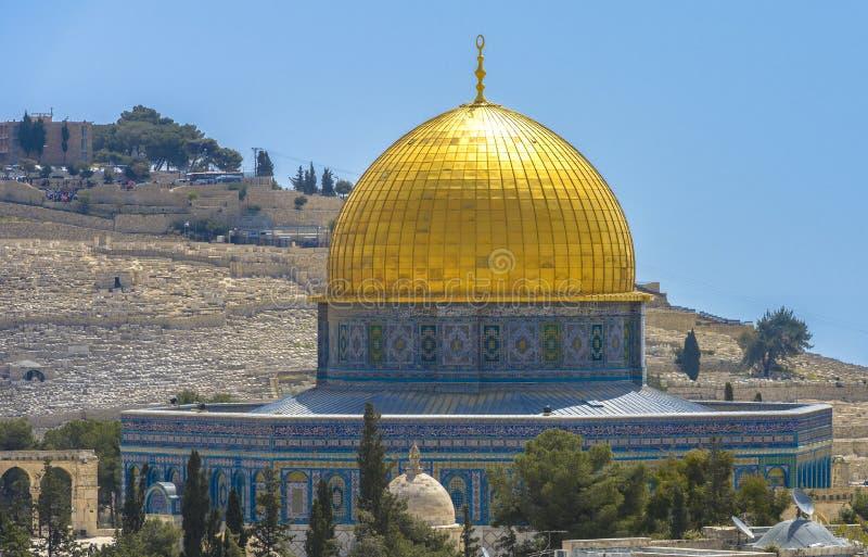Download Dôme De La Roche Dans La Vieille Ville De Jérusalem Image stock - Image du support, israel: 87708115