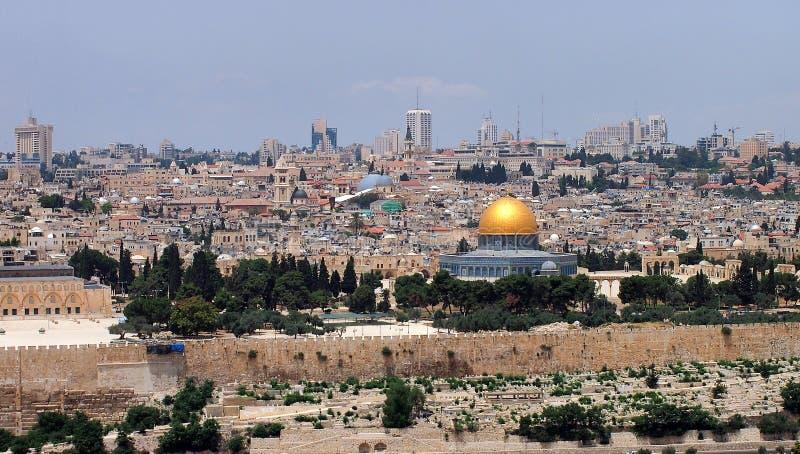 Dôme de la roche, Jérusalem photographie stock libre de droits
