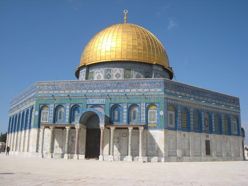 Dôme de la roche. Jérusalem. l'Israël images libres de droits