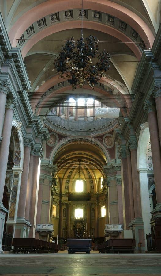 Dôme de San Gaudenzio, Novare, Italie photos stock