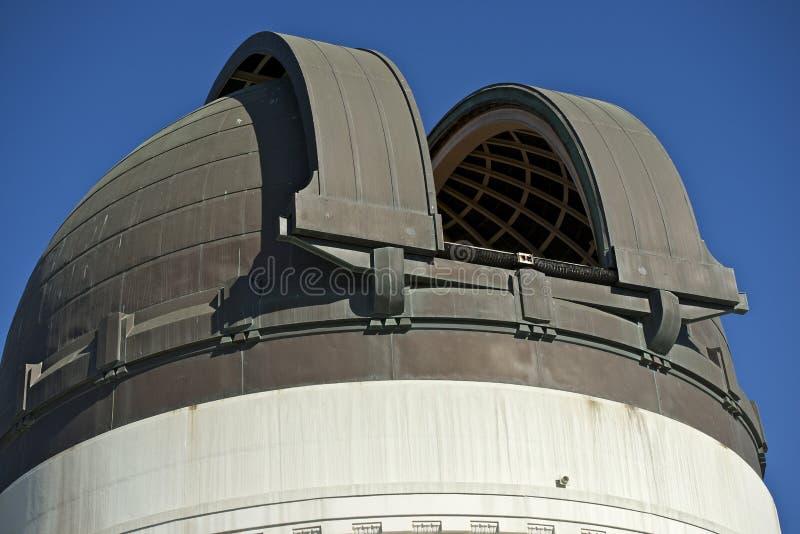 Dôme de télescope image stock