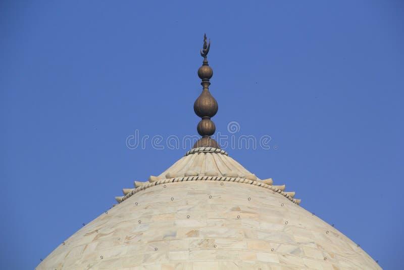 Dôme de Taj Mahal image stock
