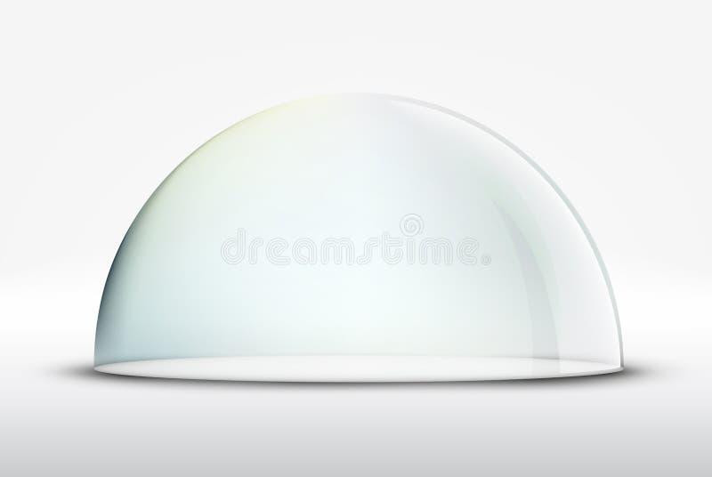 Dôme en verre illustration stock