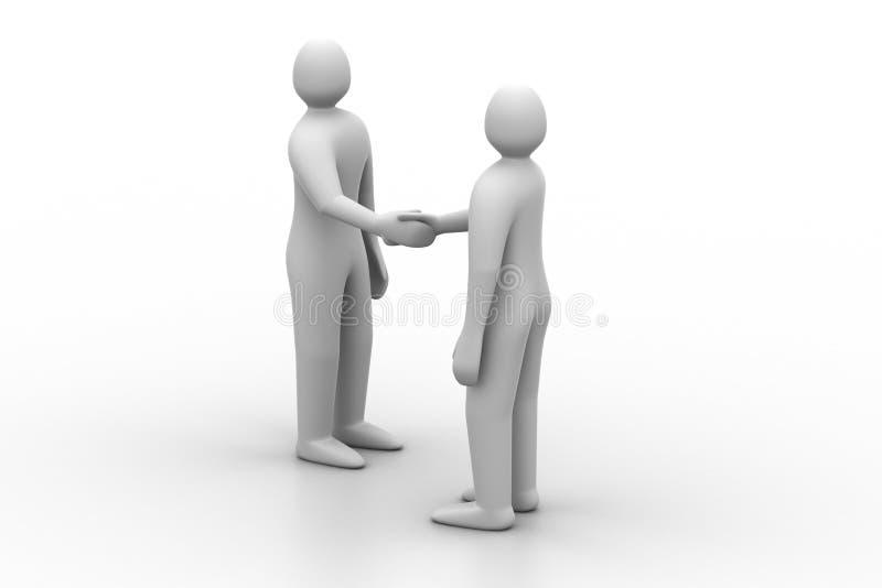 3d mensen - mensen, persoon het spreken vector illustratie