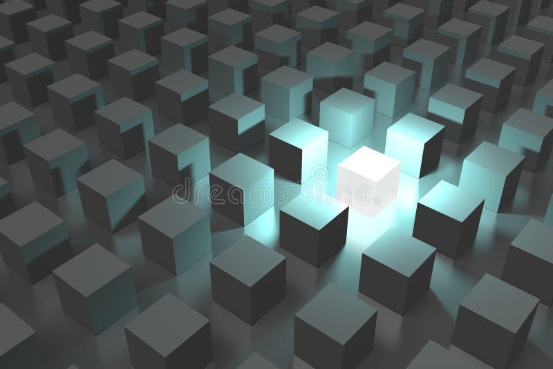 3D, metafory, sieć, internet, związek, struktura, organizacja, grupa royalty ilustracja