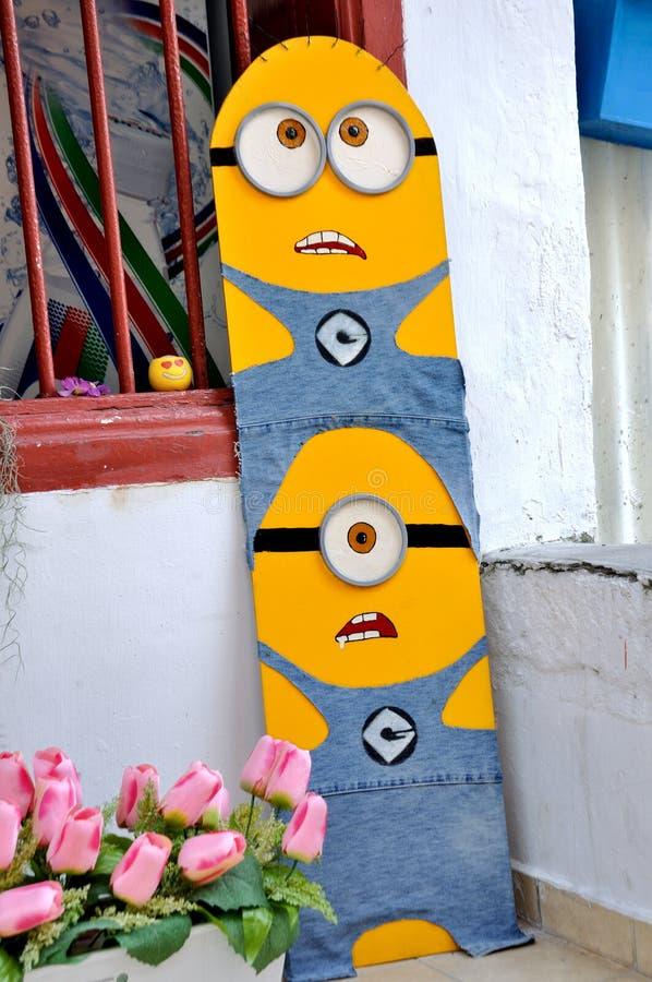 """ d'""""Minions†d'art de rue de Penang image stock"""
