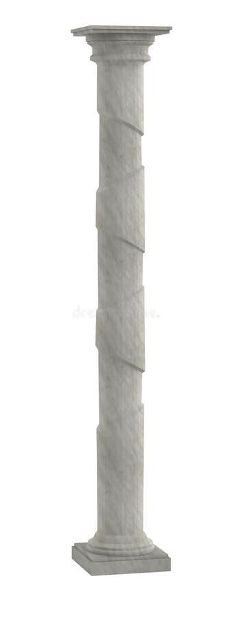 3d model kolumna ilustracja wektor