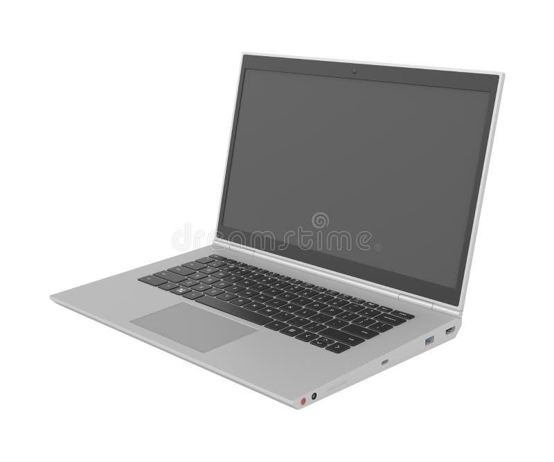 3D model laptop ilustracja wektor