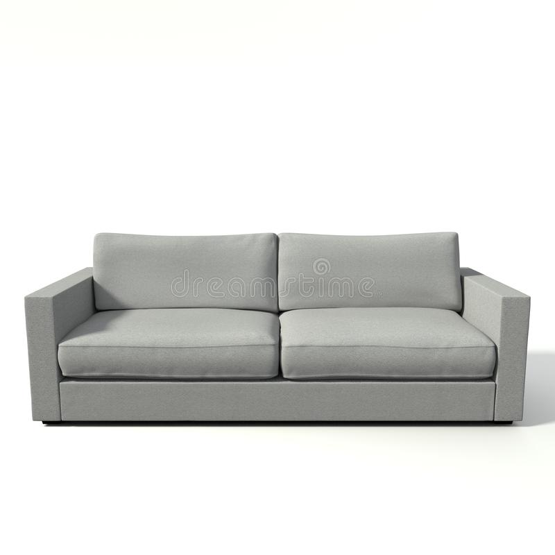 3d Modern Couch Royalty Free Stock Images