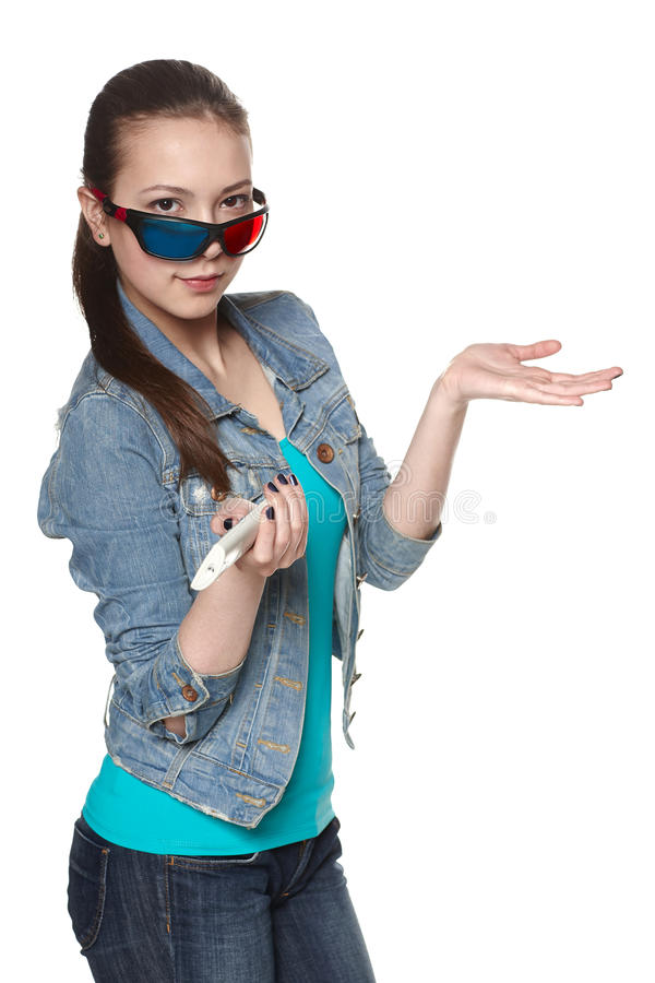 3D movie stock images