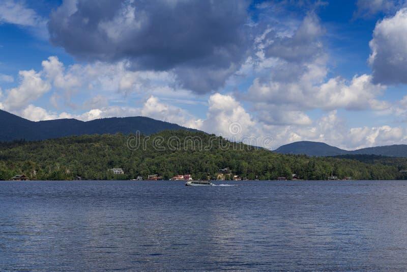 ??d? na jeziorze obraz royalty free
